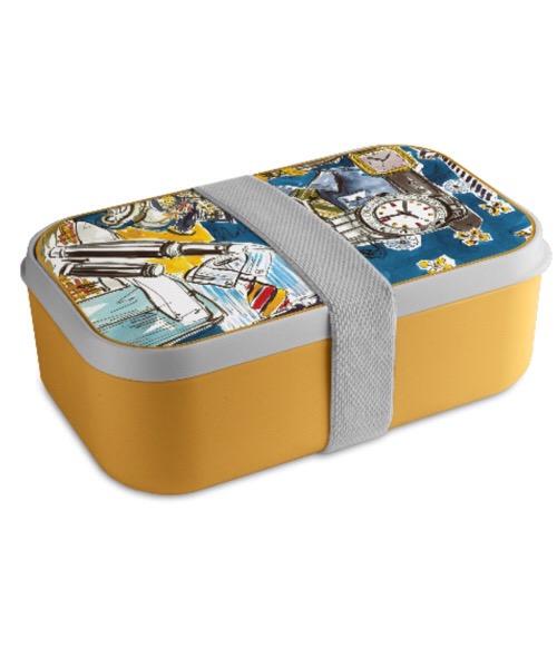 Lunch box/ contenitore per pranzo moda uomo Baci Milano