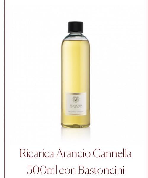 Fragranza ambiente Ricarica Arancio Cannella Dr.Vranjes Firenze