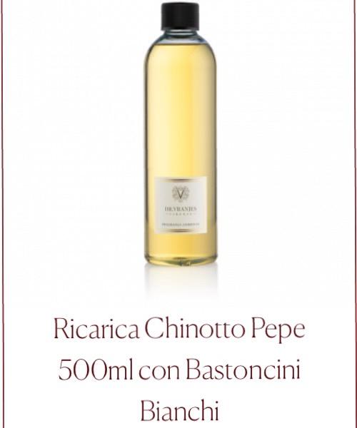 Fragranza ambiente Ricarica Chinotto Pepe Dr.Vranjes Firenze