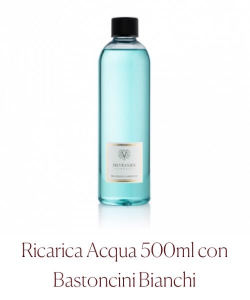 Fragranza ambiente Ricarica  Acqua Dr.Vranjes Firenze con Bastoncini Bianchi