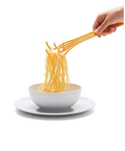 Monkey Business Spaghetti Spoon Mestolo Silicone, Giallo