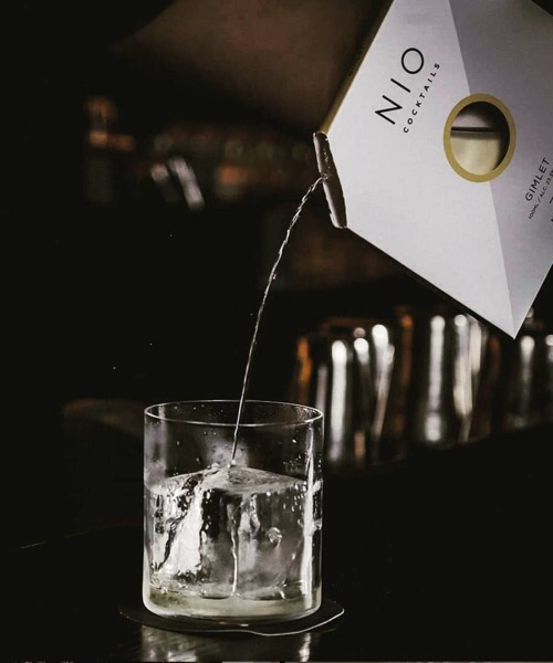 Nio Cocktails Golden Brown