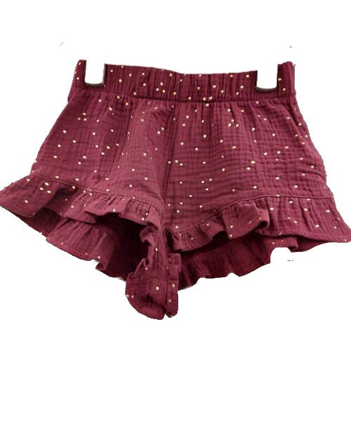 Minigonna pantalone short Caffè d'Orzo