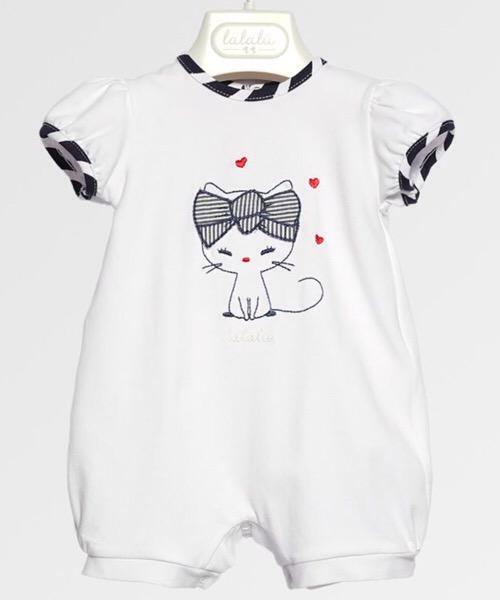 Pagliaccetto neonata Lalalù in jersey