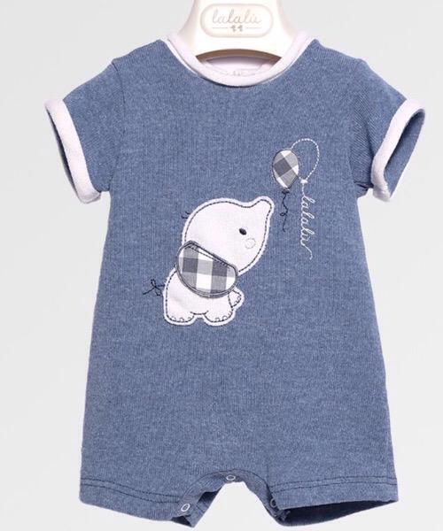 Pagliaccetto neonato Lalalù in maglia
