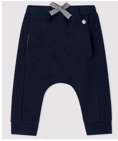 Pantalone bambino in molleton Petit Bateau