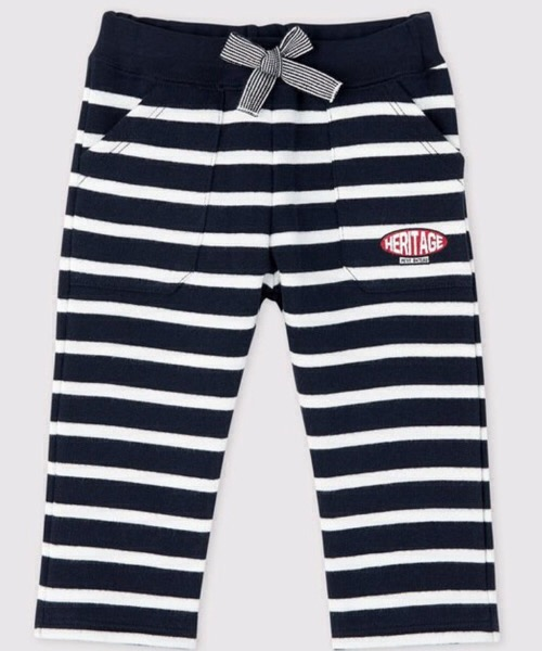 Pantalone a righe marinare bebè maschietto Petit Bateau