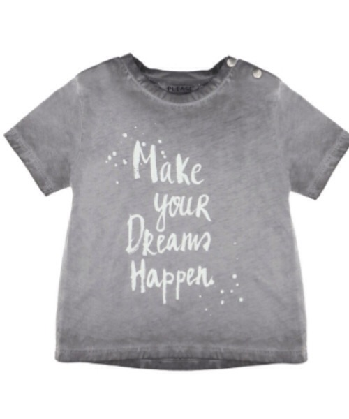 T-shirt baby Make Your Dreams Happen Please