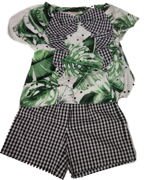 completo baby twin set