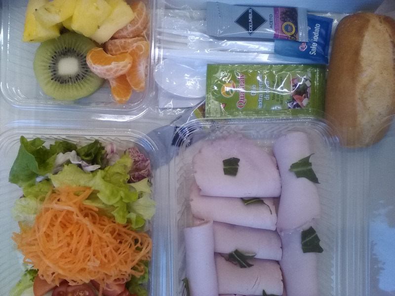 Lunch\dinner box blu