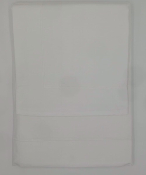 Completo letto 1 piazza e mezzo Punto Ombra Bianco di CASAMICA