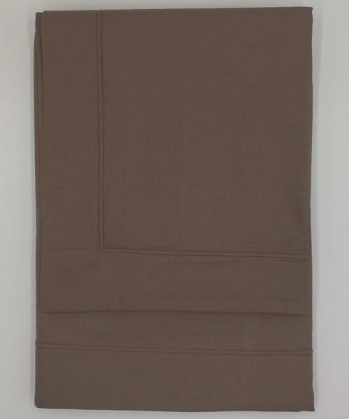 Completo letto 1 piazza e mezzo Punto Ombra Marrone di CASAMICA