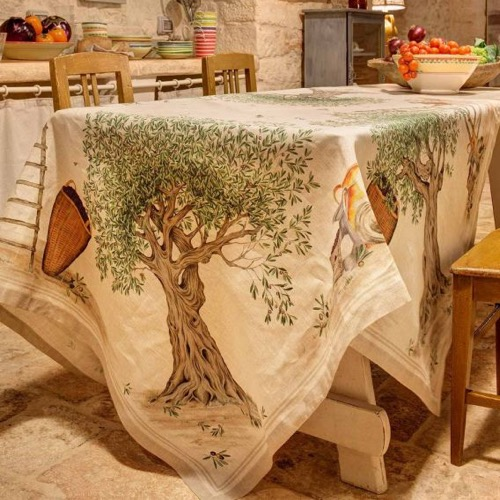 Tovaglia Dop in lino 170 x 270