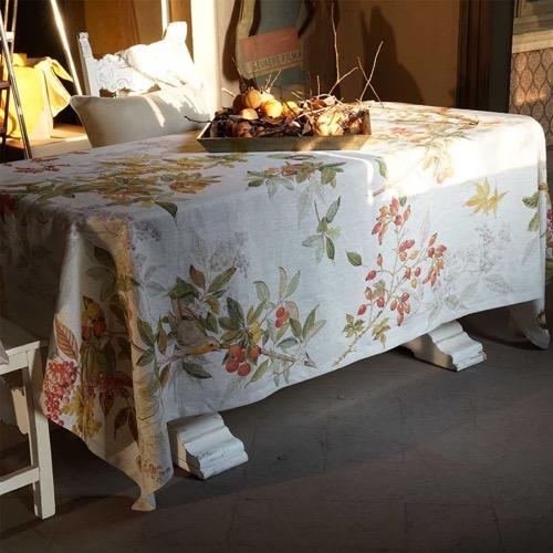 Tovaglia Arbousier in lino 160 x 230