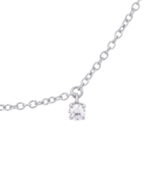 COLLIER IN ORO BIANCO E DIAMANTI World Diamond Group