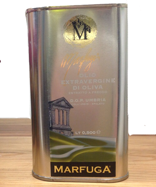OLIO DOP UMBRIA MARFUGA Colli Assisi -Spoleto latta 500ml