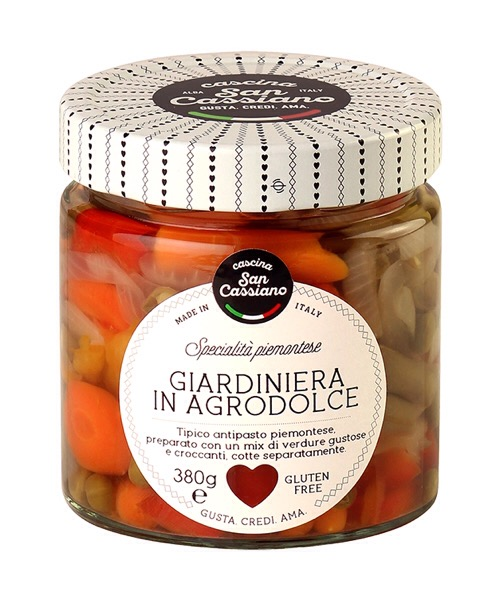Giardiniera? in agrodolce Cascina San Cassiano