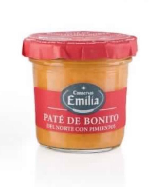 Patè de bonito (tonno) PATÉ DE BONITO CON PIMIENTOS 105 G