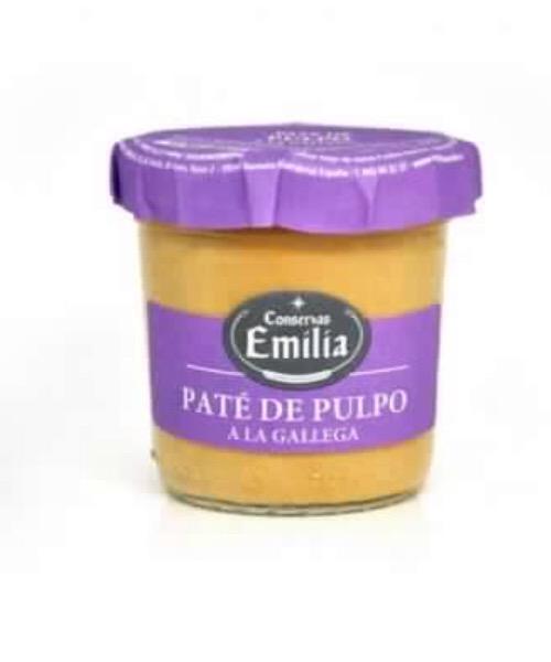 PATÉ DE PULPO (polipo) A LA GALLEGA 110 G Conservas Emilia