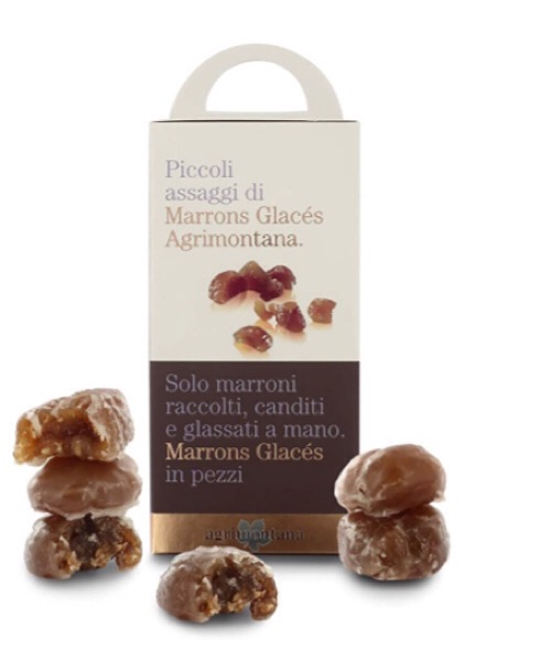 Assaggio Marrons Glaces in pezzi Agrimontana 160gr