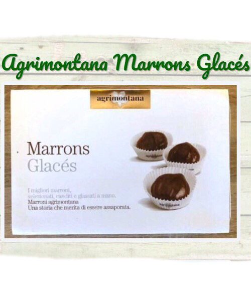 Marrons Glaces Agrimontana medi in pirottini