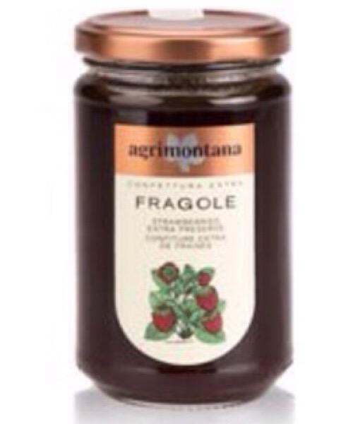 Confettura extra di Fragole Agrimontana da 350gr