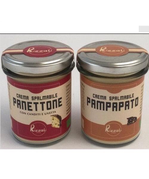 Crema spalmabile gusto Pampato Rizzati biologica / senza glutine