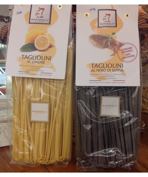 Pasta Raffaelli Tagliolini al Nero di seppia