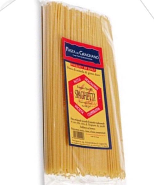Spaghetti della Cooperativa Pastai Gragnanesi 500 g Trafilata al bronzo